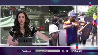 Miles huyen de Venezuela tras paro nacional | Noticias con Yuri
