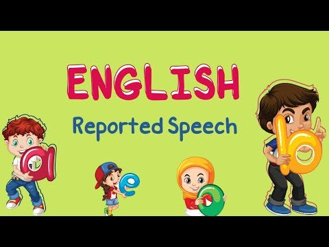 English | Reported Speech (part 3)