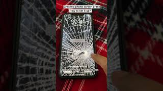 Cracked Phone Screen Prank Tutorial | How to Set - up | Step by step procedure | #shorts screenshot 4