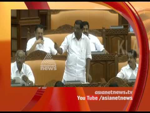 Thiruvanchoor Radhakrishnan over his tongue slip at assembly