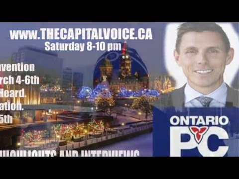 PATRICK BROWN and JACK  MAC Laren Interview  Ont PC convention  March 5th 2016