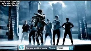 EXO-M MAMA 伴奏(KTV)