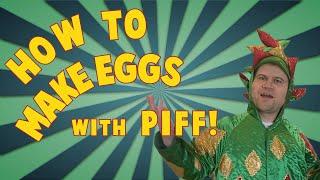 Scrambled Eggs the MAGIC DRAGON Way