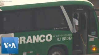 Hijacked Bus Standoff on Brazil's Rio Bridge
