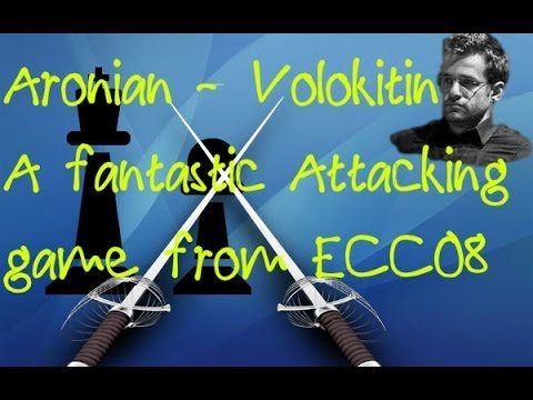 Aronian vs Volokitin - A Fantastic Attacking Chess Game from the  European Club Cup 2008