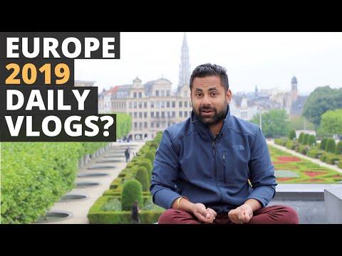 The Grand Europe Trip - 2019 - France, Belgium, Netherlands, Austria, Slovakia, Hungary and more