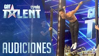 Sergio y sus movimientos imposibles | Audiciones 5 | Got Talent España 2016