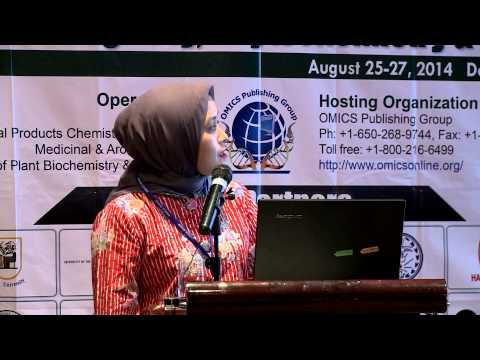 Fatma Sri Wahyuni| Andalas University | Indonesia | Pharmacognosy 2014 | OMICS International