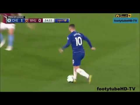 E'''Hazard  records the first vb WesT Ham | 8nd Apr 2019 thumbnail