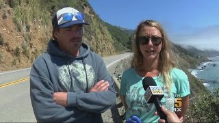 Video Hikers Find Missing Oregon Woman Who Crashed Car Off 200 Foot Cliff Near Big Sur download MP3, 3GP, MP4, WEBM, AVI, FLV Juli 2018