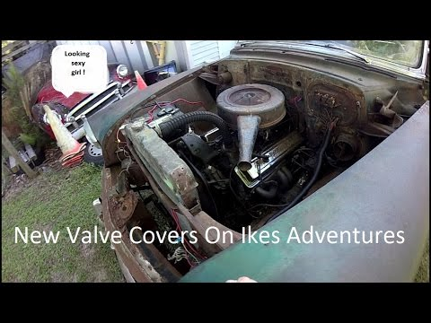 '53 Chevy Valve Cover Reveal
