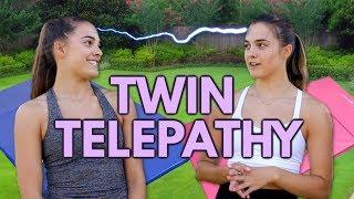 Twin Telepathy Gymnastics Challenge