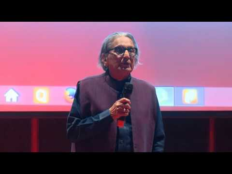 Create, Explore and Love your life | B V Doshi | TEDxNirmaUniversity