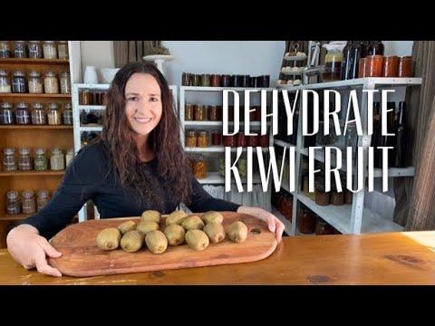 HOW TO DEHYDRATE KIWI FRUIT - How To Preserve Kiwi Fruit