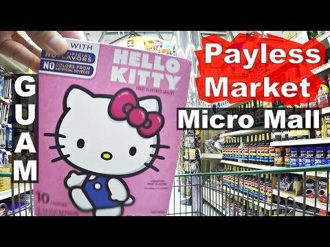 GUAM. PayLess Market, Micronesia Mall.