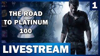 Platinum 100!! Uncharted 4 Speedrun | Road to Platinum 100 (Part 1)