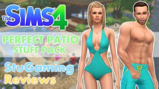 The Sims 4 | Review | Perfect Patio Stuff | CAS Clothing, Hair & Items