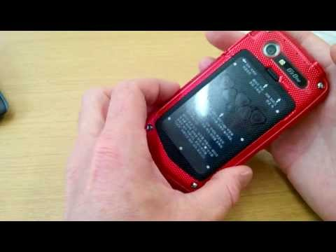 First 4G NFC Rugged Mil spec mobile phone in Europe. Android 4,Gorilla glass 2, 8MP, 1.5gHZ