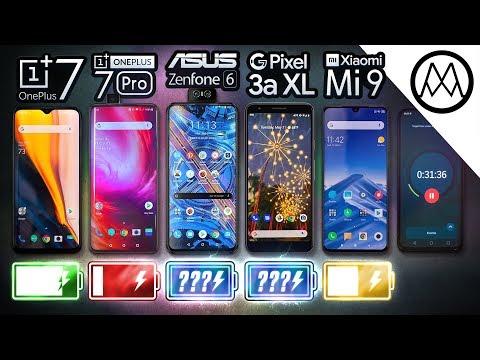 Akkutest im Video: OnePlus 7 (Pro), Google Pixel 3a XL ...