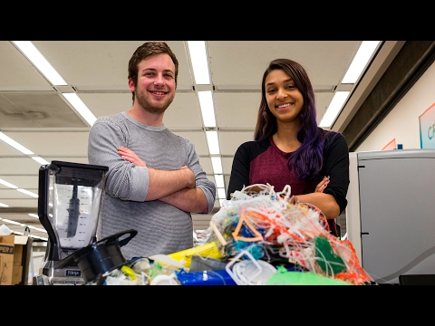 Zero waste 3D printing
