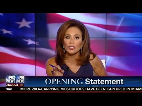 Judge Jeanine Pirro Destroys Hillary Clinton on Lying and Treatment of Women
