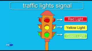 How to draw Traffic Lights Signal
