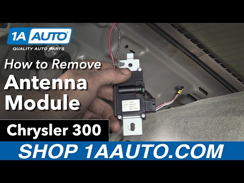 How to Replace Antenna Module 05-10 Chrysler 300