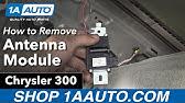 Module antenne radio chrysler 300c touring - YouTube