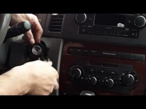 2006 Jeep Grand Cherokee,code#U1114,(flashing Dashboard,) Ignitión Switch Replacement
