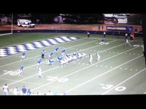 Nate Askins Wayland Baptist University Football