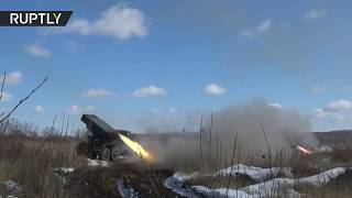 Look at it go | Russian military tests 'Grad' MLRS guided by unmanned drone