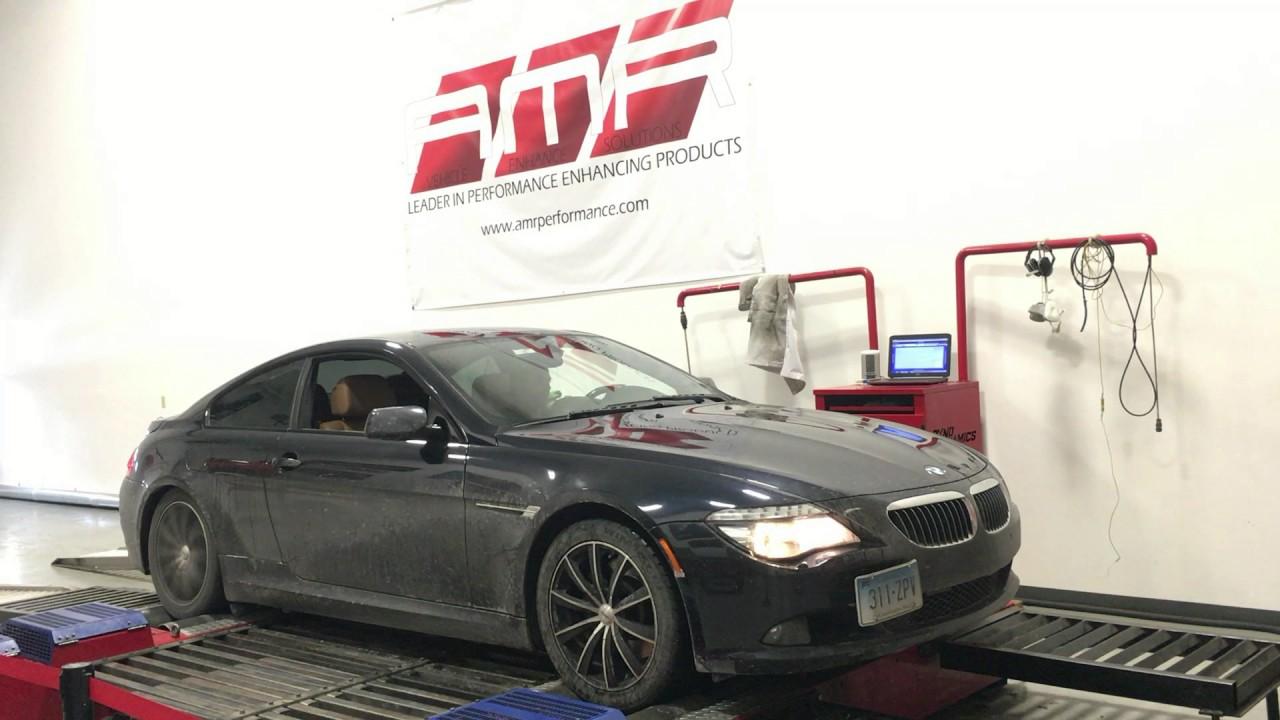 AMR Performance: Dyno Tuning - BMW 650i 4 8L V8 (+30hp / +