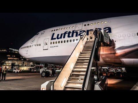 TRIP REPORT | Lufthansa | Boeing 747-400 | Frankfurt - Berlin Tegel (FRA-TXL) | Economy Class