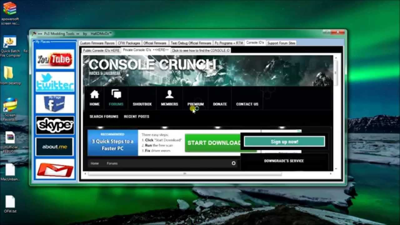 Playstation 3 Custom Firmware and tools (everything you ...