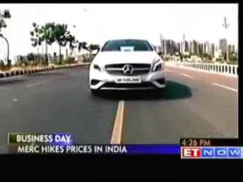 Mercedes Benz India to hike car prices by up to 4.5 percent