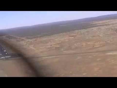 Piper Lance Landing at YBAS Alice Springs, Northern Territory, Australia