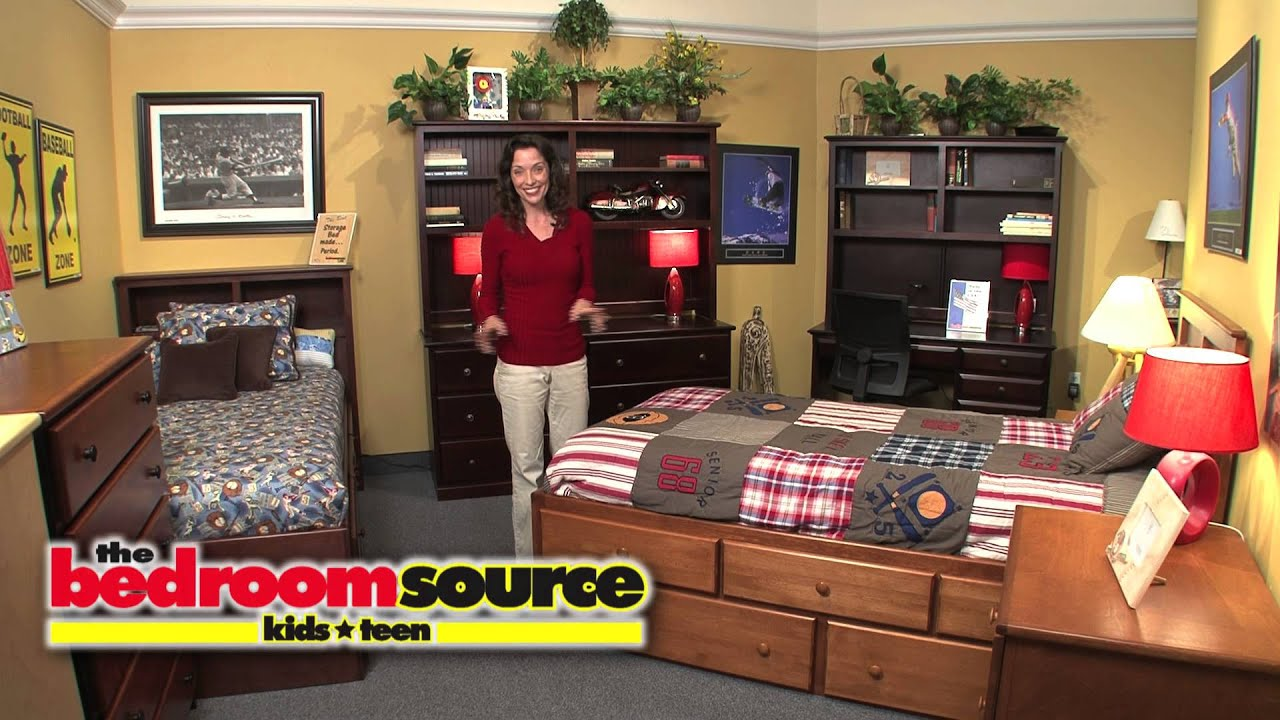 The Bedroom Source Collection of Kids & Teen Furniture - YouTube