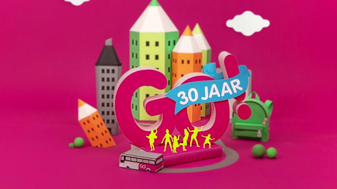 Welp Laat het feest beginnen! Het GO! lanceert een nieuw logo voor 30 LW-47