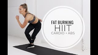 Crazy HIIT CARDIO + ABS Workout // No Equipment
