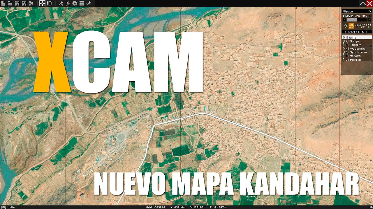 Arma 3 New map Kandahar WIP XCAM YouTube