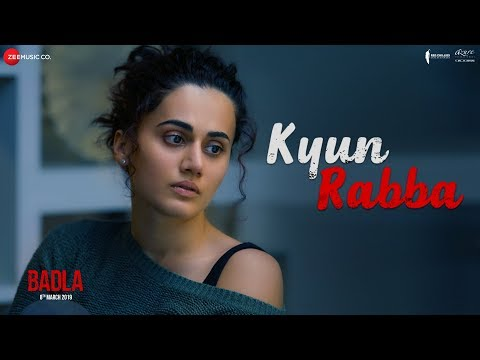 Kyun Rabba - Badla | Amitabh Bachchan | Taapsee Pannu | Armaan Malik | Amaal Mallik | Sujoy Ghosh