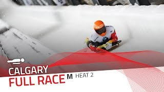 Calgary | BMW IBSF World Cup 2018/2019 - Men's Skeleton Heat 2 | IBSF Official