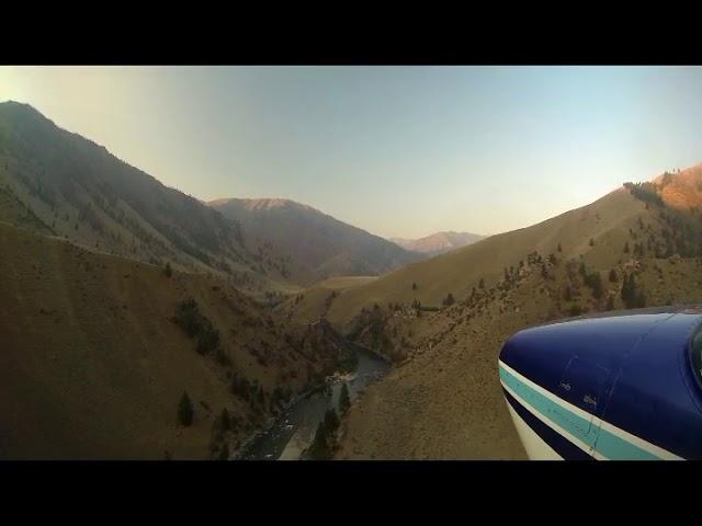 Landing Cougar Ranch Idaho