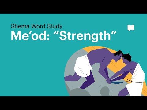 Word Study: Me'od