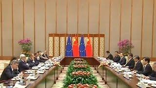 The Heat: China-EU meeting in Beijing Pt 1