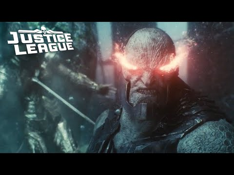 Justice League Trailer Darkseid Battle Opening Scene Explained