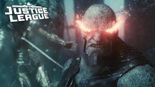 justice league trailer darkseid battle opening scene explained