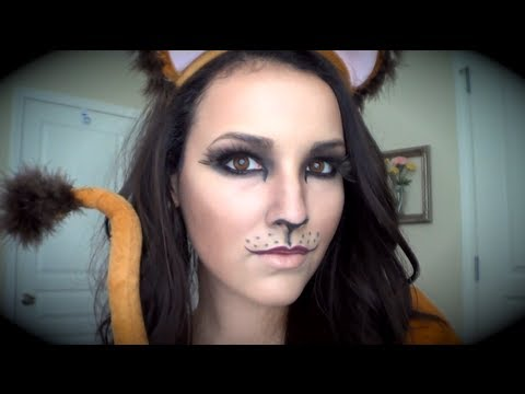Lion Makeup Tutorial for Halloween! - YouTube