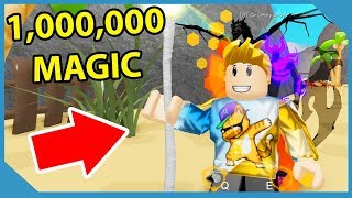 I AM the MOST POWERFUL WIZARD in Roblox Wizard Simulator