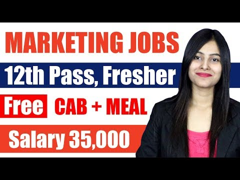 JOBS FOR 12th PASS, FIELD SALES MARKETING EXECUTIVE JOBS IN DELHI NCR